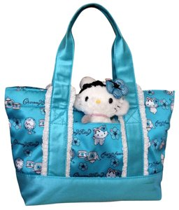 Hello Kitty Cat Charmy Charmmy Cute Hibiscus Key Lace Lolita Sanrio Tea Wonderland Satchel