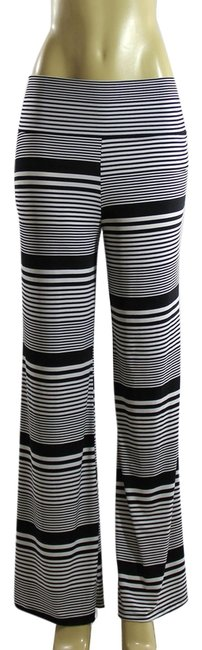 Other Wide Leg Pants Black and White
