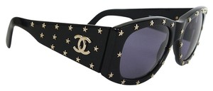 Chanel Chanel Super Rare Star Studded Vintage Sunglasses 1990s