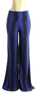 Wide Leg Pants Black Blue