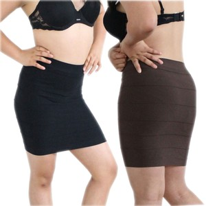 Other Mini Skirt Black Brown