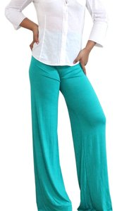 Wide Leg Pants Teal
