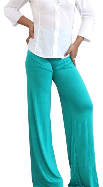 Other Wide Leg Pants Teal