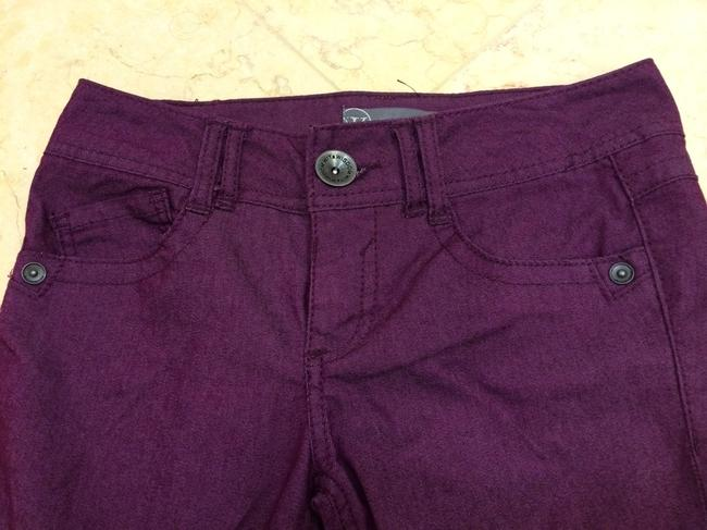 wit & wisdom Colored Denim Nordstroms Berry Skinny Jeans-Coated