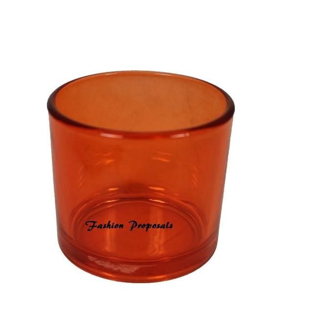 Item - Orange Heavy Tea Light Holder Set Of 72 For Free Shipping Votive/Candle