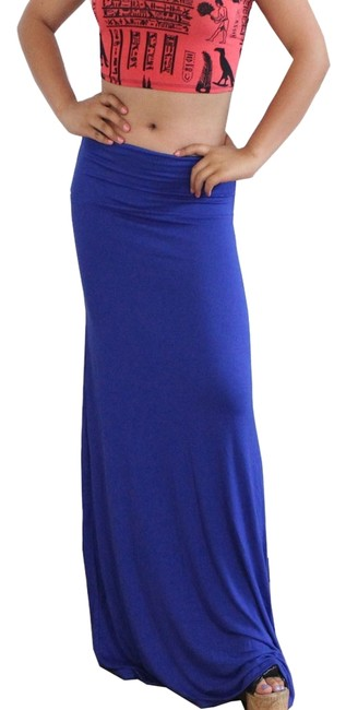 Other Maxi Skirt Royal Blue