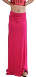 Maxi Skirt Fuschia