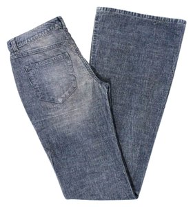 Theory Fall Corduroy Winter Flare Pants Blue Jean