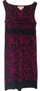 Michael Kors short dress Red and black on Tradesy