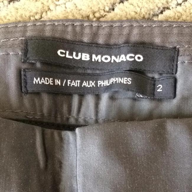 Club Monaco Dress Metallic Night Out Date Night Shine Skinny Pants Slate grey
