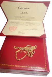 Cartier Cartier 18KT Yellow Gold Baby Trinity Rings Necklace