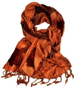 Other New Petal Print Fashion Scarf