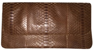 Saks Fifth Avenue Brown Clutch