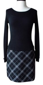 White House | Black Market Plaid Sweater Dress