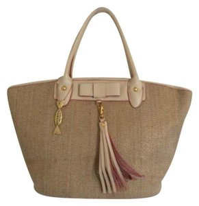 JPK Paris Tote in Tan Gold