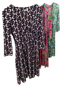 MILLY short dress Print Of New York Michelle Smith Size 2 Summer Dvf Diane Von Furstenberg on Tradesy