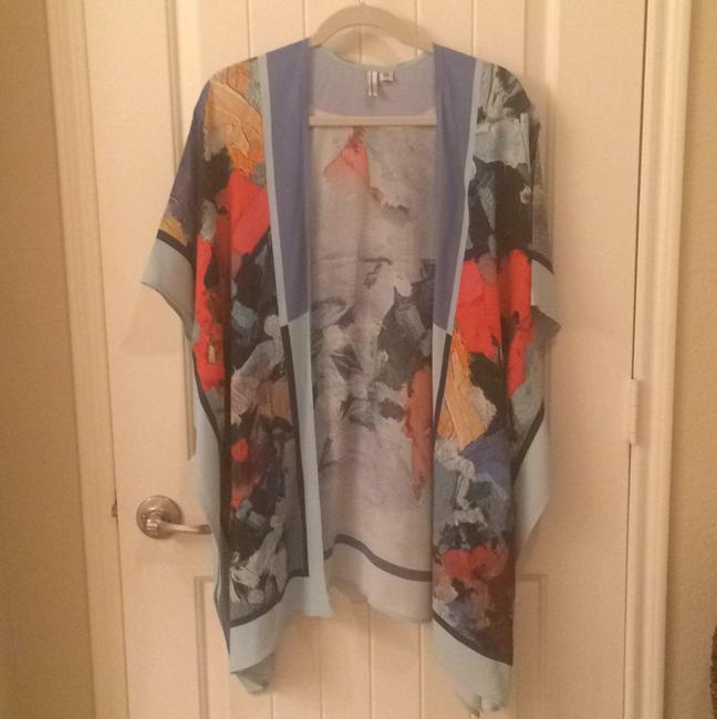 Item - Multi Color Poncho/Cape Size OS (one size)