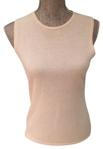Lord & Taylor Cashmere Sleeveless Size Small Cashmere Tops Sweater