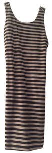 Rory Beca short dress Black Fitted Striped Cotton Mini on Tradesy