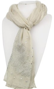Other Wing Pattern Hot Fix Studs Scarf