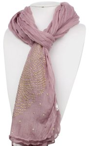 Wing Pattern Hot Fix Studs Scarf