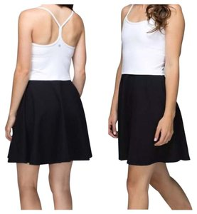 Lululemon short dress Black white on Tradesy