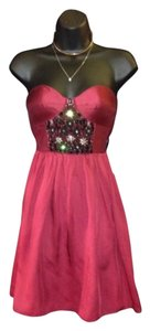 Tibi gorgeous red with crystal dress Dress
