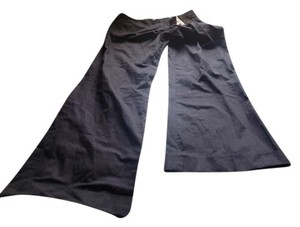 The Limited Trousers Like New Comfy Fit Wide Leg Relaxed Pants Black
