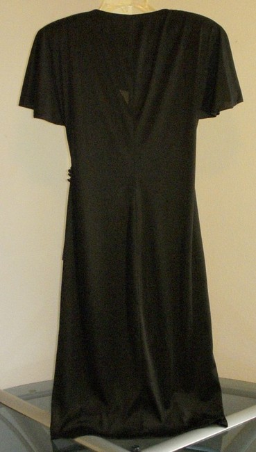 Lola Berent for Superstition Vintage Wrap Style Covered Buttons Dress