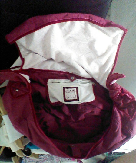 Old Navy maroon Messenger Bag