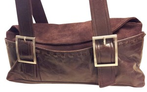 Kenneth Cole Satchel in Dark Brown