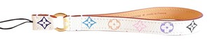 Louis Vuitton LOUIS VUITTON Multicolor Phone Strap in White