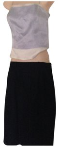 Aquascutum Navy Classic Elegant Pencil 12 Skirt navy blue