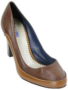 Pollini Two-tone Pump Brown Pumps