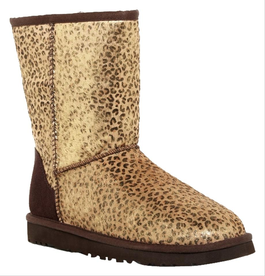 ugg australia classic short metallic leopard new in box lmtl boots on sale 37 off boots. Black Bedroom Furniture Sets. Home Design Ideas