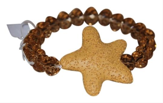 AFRO-FUSION BRACELET, HAND MADE LAVA STAR AND CRYSTAL