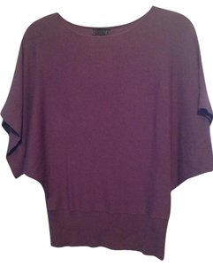 The Limited Eggplant Dolman Sweater