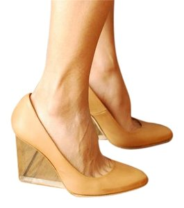 Maison Martin Margiela for H&M Tan Wedges