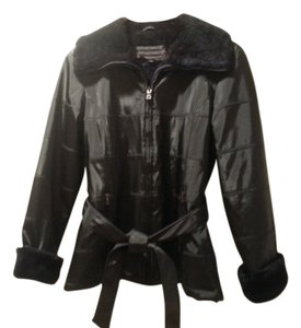 Braetan Quilted Jacket Belted Jacket Trench Coat