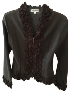 Ann Fontaine Top Brown