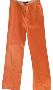 Ralph Lauren Straight Pants Orange