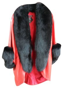 Tiboa Leathers Fur Coat