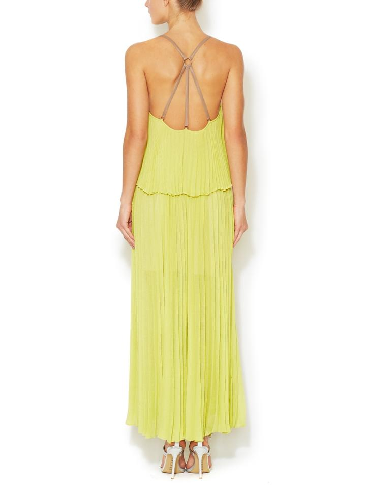 BCBG Casual Dress (maxi) Lime Green Long 72% Off
