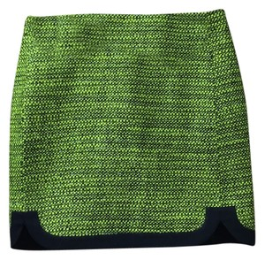 J.Crew Mini Skirt Neon Sparkle Tweed