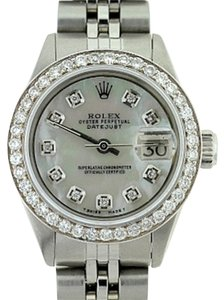 Rolex Ladies Datejust Diamond Watch