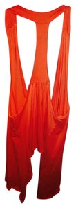 Moda International Top Light Orange