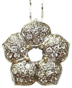 Floris Diamond Flower Pendant