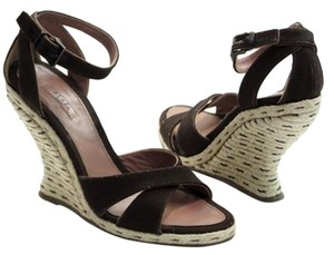 ALAÏA brown Wedges