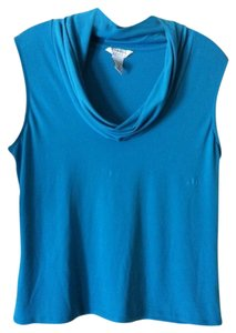 George Sleeveless Top TEAL