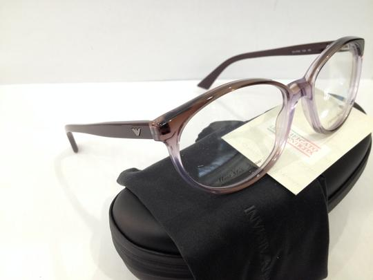 Emporio Armani NEW EMPORIO ARMANI EA9786 COLOR YZK PURPLE ROUND PLASTIC EYEGLASSES FRAME MADE IN ITALY